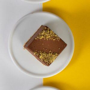 קינוח שוקולד מריר ופיסטוק ללא גלוטן