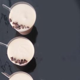 קינוח פרווה שוקולד מריר וקפה